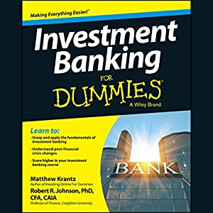 Investment Banking for Dummies Hörbuch