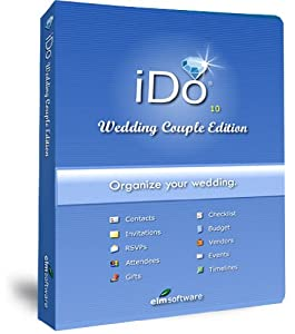 IDo Wedding Couple Edition: Wedding Planning Software for Brides and Grooms by Elm Software. Platform: Windows