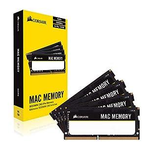 Corsair Apple 8 GB Dual Channel Kit DDR3 1066 (PC3 8500) 204-Pin DDR3 Laptop SO-DIMM Memory