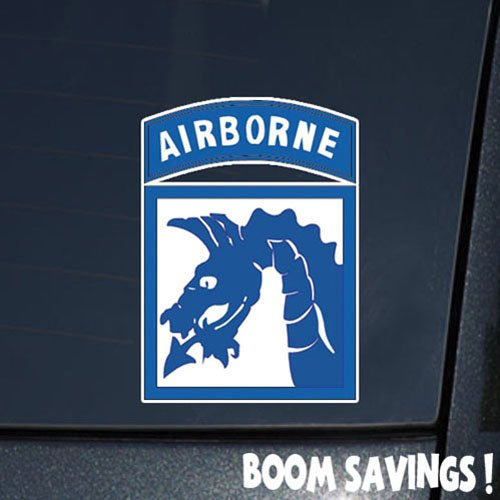 us army 18th airborne corps ssi 6 decal sticker robert c marriottez. Black Bedroom Furniture Sets. Home Design Ideas