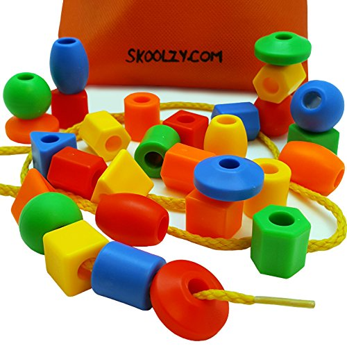30-Jumbo-Toddler-Lacing-Stringing-Beads-with-String-Tote-by-Skoolzy-Montessori-Preschool-Fine-Motor-Skills-Toys-for-Occupational-Therapy-and-Autism-OT