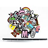 30pcs DIY Mix New Fashion Patches Iron on Clothes or Other Things at Random (Tamaño: 30pcs New Fashion Patches)