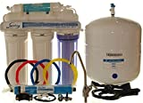 iSpring 75GPD 5-Stage Reverse Osmosis Water Filter System, Model RCC7