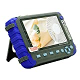 5 Inch LCD 4 in 1 CCTV Tester Support 720P/1080P/3.0mp/4.0mp/5.0 Megapixel AHD, TVI, CVI & CVBS Analog Camera, Security Video Monitor Support PTZ Controller, Color bar Generator, UTP Cable Test … (Color: AHD/CVI/TVI/CVBS Tester)