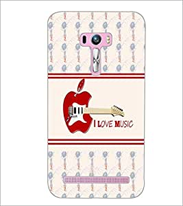 PrintDhaba Quote D-4823 Back Case Cover for ASUS ZENFONE SELFIE ZD551KL ULTRA (Multi-Coloured)