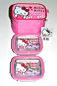 hello kitty bento lunch bag set w thermal lunch boxes sanrio bento box kitchen. Black Bedroom Furniture Sets. Home Design Ideas