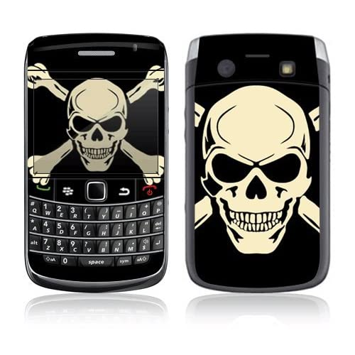 Crossbone Decorative Skin Cover Decal Sticker for Blackberry Bold 9700 Cell Phone