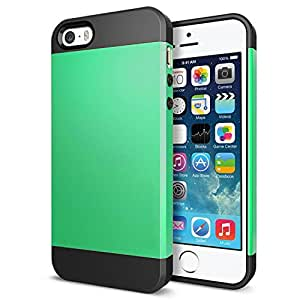 """iPhone 6s Plus Case,iPhone 6 Plus Case,(5.5 Inch) Armored Hybrid Protective Case Phone Cover For iPhone 6 Plus/iPhone 6s Plus 5.5"""" Hard Plastic Armored Hybrid TPU Cover+Hard Outter Shell (Green)"""
