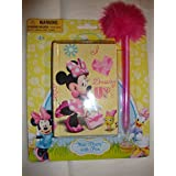 "Disney Minnie Mouse ""Dressing Up!"" Mini Diary With Pen"