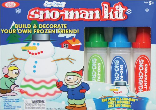 Ideal Sno Toys Sno Marker Sno Man Kit