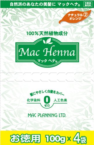 マックヘナ オレンジ お徳用 4個