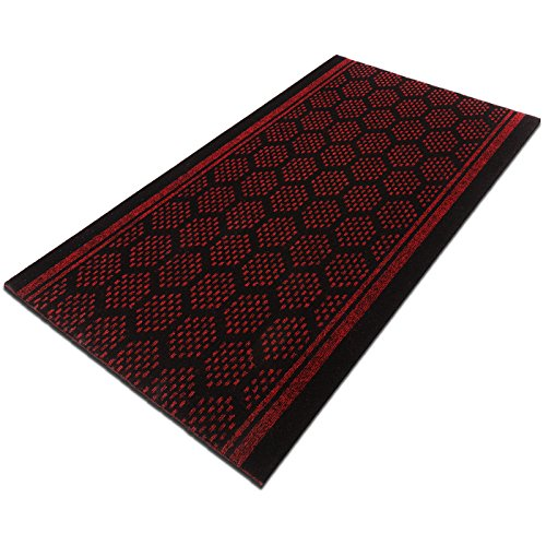 tapis de couloir casa pura bilbao rouge feutre. Black Bedroom Furniture Sets. Home Design Ideas