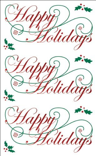Mrs. Grossman's Stickers-Happy Holidays - 1