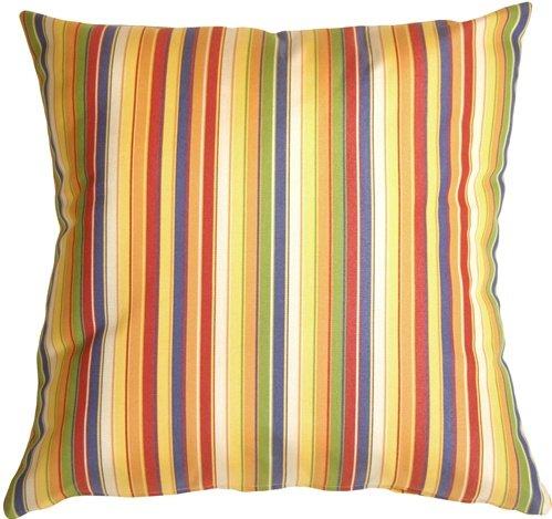 Sale alerts for Pillow Decor Pillow Decor - Sunbrella Castanet Beach Stripes Outdoor Pillow - Covvet
