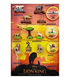 McDonald's 2019 The Lion King - Complete Set of 10 + 6 Stickers