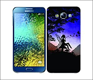 Galaxy Printed 1618 DREAMSCAPES SILHOUETTES FAIRY Hard Cover for samsung A3