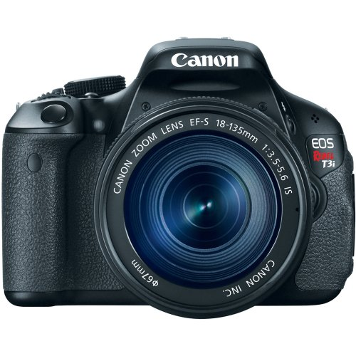 Canon EOS Rebel T3i 18 MP CMOS Digital SLR Camera and DIGIC 4 Imaging with EF-S 18-135mm f/3.5-5.6 IS Standard Zoom Lens