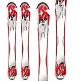 K2 kids skis 112cm K2 strike girls set new skis with new marker girls bindings NEW by K2