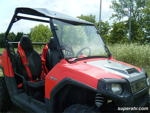 #1048 Polaris RZR Full Windshield