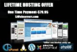 LIFETIME WEB HOSTING 20GB + USA IP, Unlimited Websites Domains Bandwidth & m