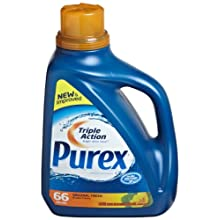 Dial 1423980 Purex Ultra Original Fresh Concentrate Liquid Detergent, 100oz Bottle, 64 Load (Pack of 4)