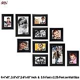 Ajanta Royal Classic set of 10 Individual Photo Frames (6-4x6,2-5x5, & 2-6x10 Inch) - WPC-08