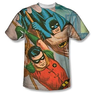Batman Classic Nightly Patrol All Over Print Front T-Shirt