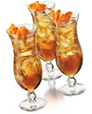 Libbey Cool Cocktails Island Hurricane Glasses in Clear, 6-Piece Set
