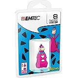 EMTEC Flintstones 8 GB USB 2.0 Flash Drive, Dino