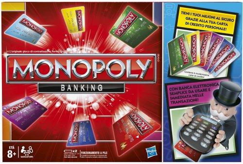 hasbro monopoly banking preisvergleich preis ab 43 07. Black Bedroom Furniture Sets. Home Design Ideas