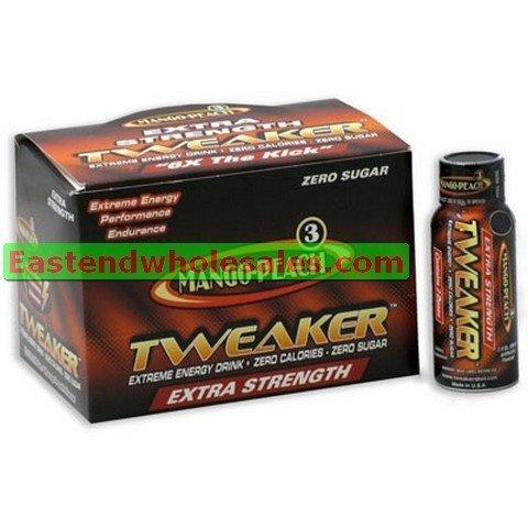 12 Tweaker Extreme Energy Drinks - Extra Strenth - Mango-peach 12/2oz by Tweaker (Tweaker Energy Mango compare prices)
