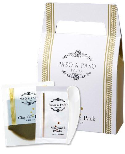 炭酸パック フェイスパック 泥炭酸パック 1包 PASO A PASO パソアパソ