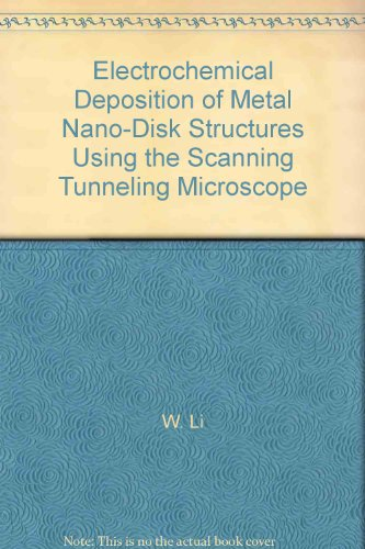 Electrochemical Deposition Of Metal Nano-Disk Structures Using The Scanning Tunneling Microscope
