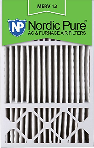 Nordic Pure 16x25x5L1M13-2 16x25x5, MERV 13, Lennox X6670 Replacement Air Filter, Box of 2, 5-Inch (Air Filter X6672 compare prices)