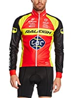 MOA FOR PROFI TEAMS Maillot Ciclismo Raleigh (Rojo / Negro)