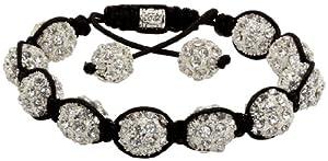 Royal Diamond Crystal Stone Balls Shamballa Bracelet (9 COLORS TO CHOOSE FROM)