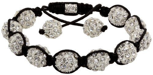 Royal Diamond Crystal Stone Balls Shamballa Bracelet