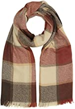 New Look Women's Pretty Checkered Scarf