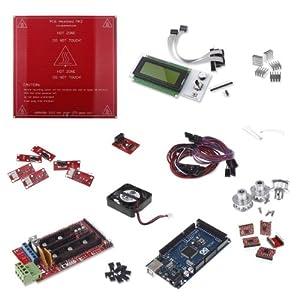 RioRand 3D RepRap Printer Kit RAMPS 1.4 Mega2560 rev3 5 A4988 G3D LCD MK2a Endstops