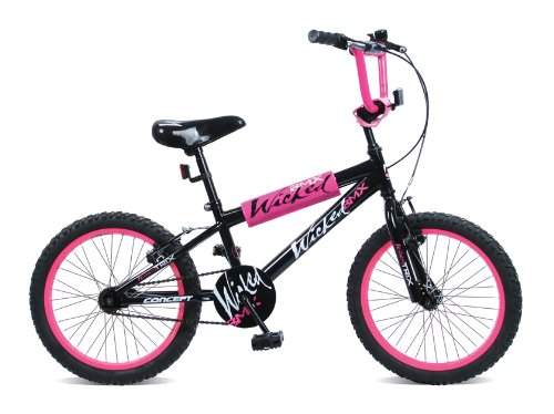 Concept Wicked Black and Pink Girls BMX Bike. 18