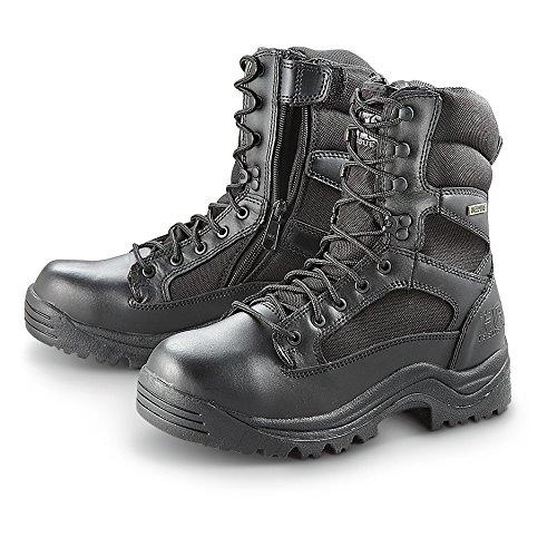 Hq Issue Men S Waterproof Side Zip Tactical Boots