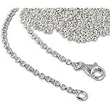 SilberDream 925 Sterling Silber Charm Halskette 70cm Kette für Charms Armband Anhänger FC00297-1