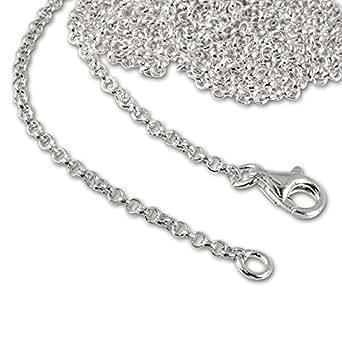 SilberDream 925 Sterling Silber Charm Halskette 50cm Kette für Charms Armband Anhänger FC00295-1