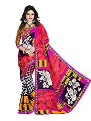 Gopika Creation Women's Georgette Saree_gop71_Multicolored_Freesize