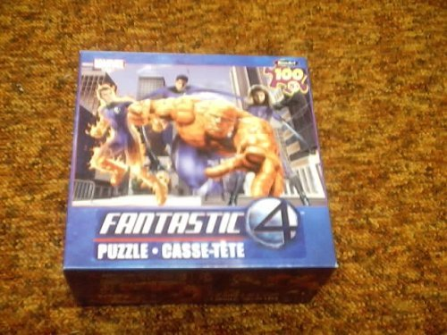 Marvel's Fantastic Four 100-Piece Puzzle by Rose Art