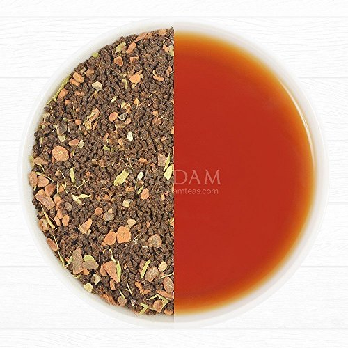 Cinnamon Spice, Masala Chai Tea (50 Cups) - Sweet & Spicy Cinnamon Tea, Bend of Assam Black Tea with Fresh Cinnamon & Cardamom - India's Original Masala Tea Recipe, Blended & Packed in India (Keurig Bigelow Chai Tea compare prices)