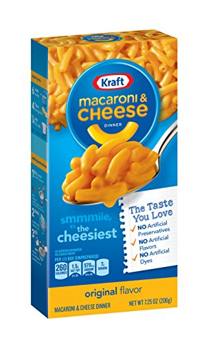 Kraft Macaroni & Cheese, Original Flavor, 7.25 oz (Box Mac And Cheese compare prices)