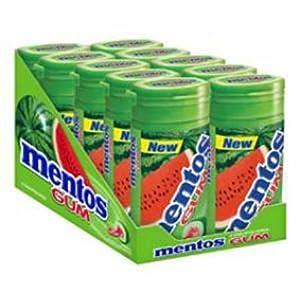 Mentos Watermelon Gum - 10 Pack
