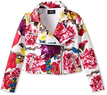 Bardot Junior Girls 7-16 Bright Floral Jacket, Multi, 7/8