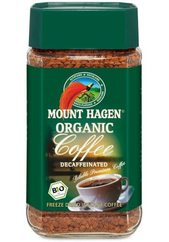 マウント ハーゲン オーガニック カフェインレスインスタントコーヒー100g